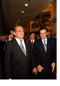 Gilmar Mendes e Aécio Neves: relações íntimas