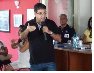 Quaquá, candidato a presidente do Diretório Estadual RJ.